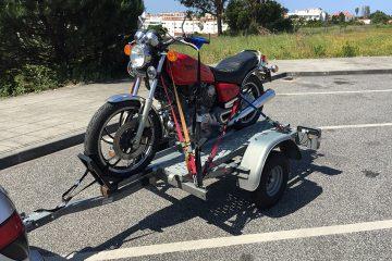 Transporte de motos personalizado
