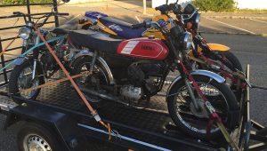 Transporte de motas