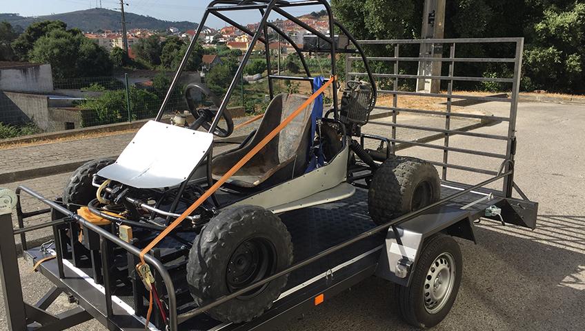 Transporte de Kartcross