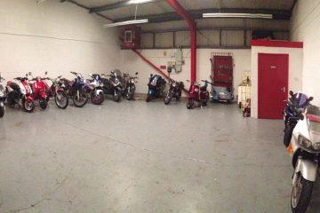 Transporte de motos em grupo